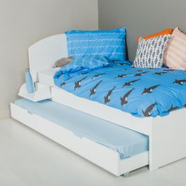 Oundle Bed - Silk White