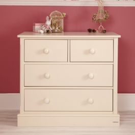 Charterhouse 2+2 Children's Chest Of Drawers - Antique White