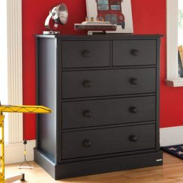 Charterhouse 3+2 Children's Chest Of Drawers - Prussian Blue
