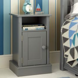Charterhouse Children's Bedside Cabinet - Dark Grey