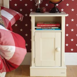 Charterhouse Children's Bedside Cabinet - Antique White