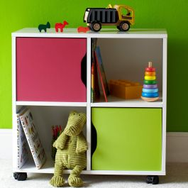 Children's Roll-Out Storage Unit - Quadrant