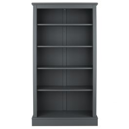 Milne Tall Children's Bookcase - Dark Grey