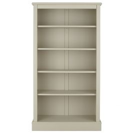 Milne tall children's bookcase - taupe