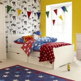 Stowford Children's Single Bed - Silk White