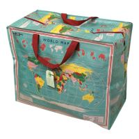 World Map Jumbo Children's Storage Bag