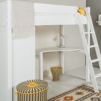 Warwick Optional Desk For Daybed - Silk White