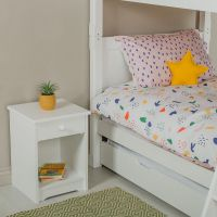 Oundle Bedside - Silk White