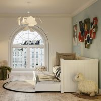Charterhouse Daybed With Trundle - Antique White