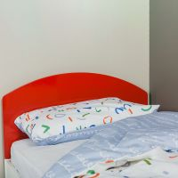 The Colourful Children's Single Bed - Red