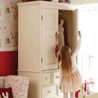 Belvoir Kids Wooden Armoire Size Specifications, Childs Wooden Armoire Size Specifications, Childrens Wooden Armoire Size Specifications