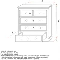 Belvoir Kids Wooden Chest Of Drawers Size Specifications, Childs Wooden Chest Of Drawers Size Specifications, Childrens Wooden Chest Of Drawers Size Specifications