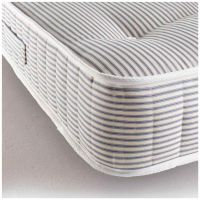 Children's Pocket 1000 Raised Bed Mattress - Blue Ticking (single)