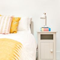 Bedside Table Children's Lamp - White