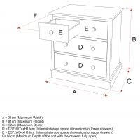 Charterhouse Kids Wooden Chest Of Drawers Size Specifications, Childs Wooden Chest Of Drawers Size Specifications, Childrens Wooden Chest Of Drawers Size Specifications