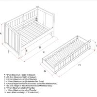 Charterhouse Day Bed Size Specifications