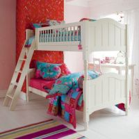 Jill Wooden Bunk Bed, Childs Wooden Bunk Bed, Kids Wooden Bunk Bed