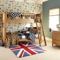 Porterhouse Bunk Bed - Oak