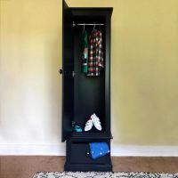 Charterhouse Single Wardrobe - Prussian Blue