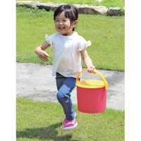 Small Toy Storage Bucket - Pink