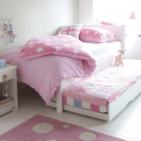 Stowford Children's Single Low Foot End Bed - Silk White