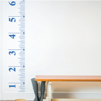Height Chart Children's Wall Stickers