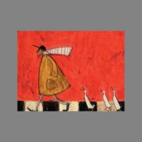 Sam Toft Crossing with Ducks Canvas