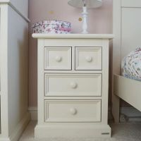 Belvoir Children's Bedside Cabinet - Antique White