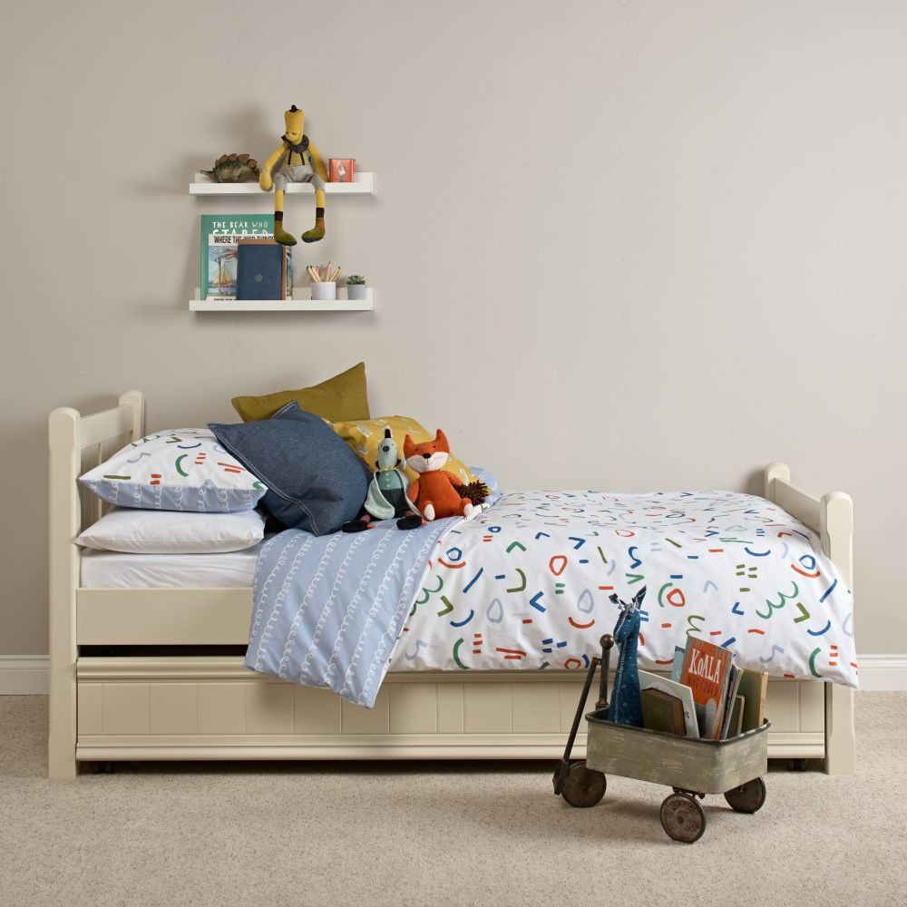 Reversible Children's Duvet Set - Flint