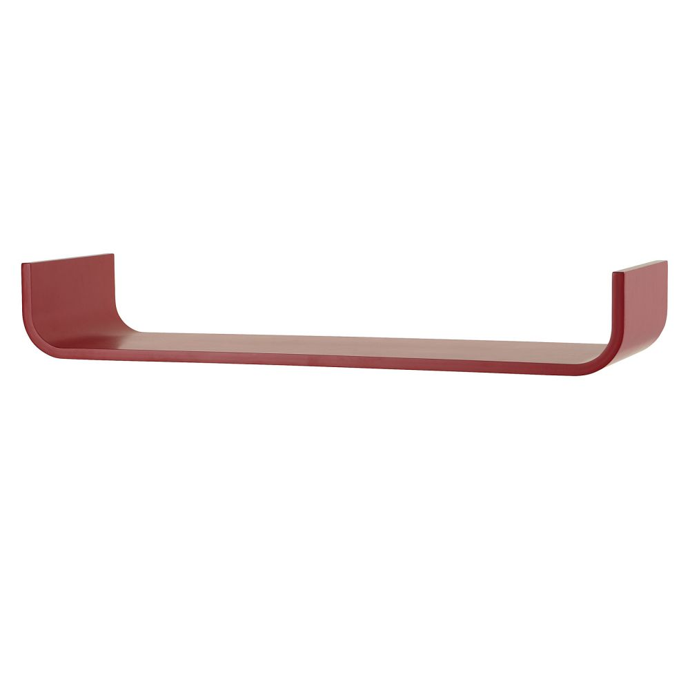 Tessera Curved Children's Shelf - Red