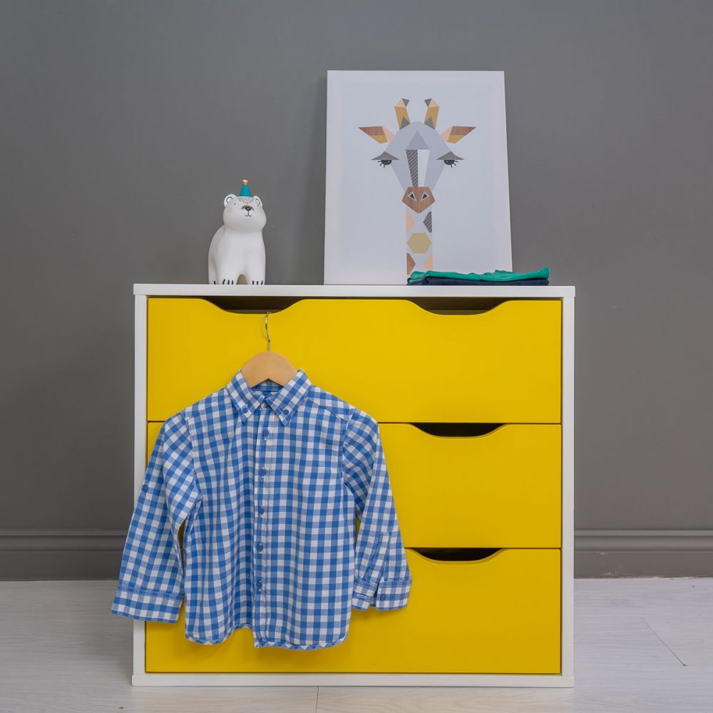 The Colourful Chest of Drawers