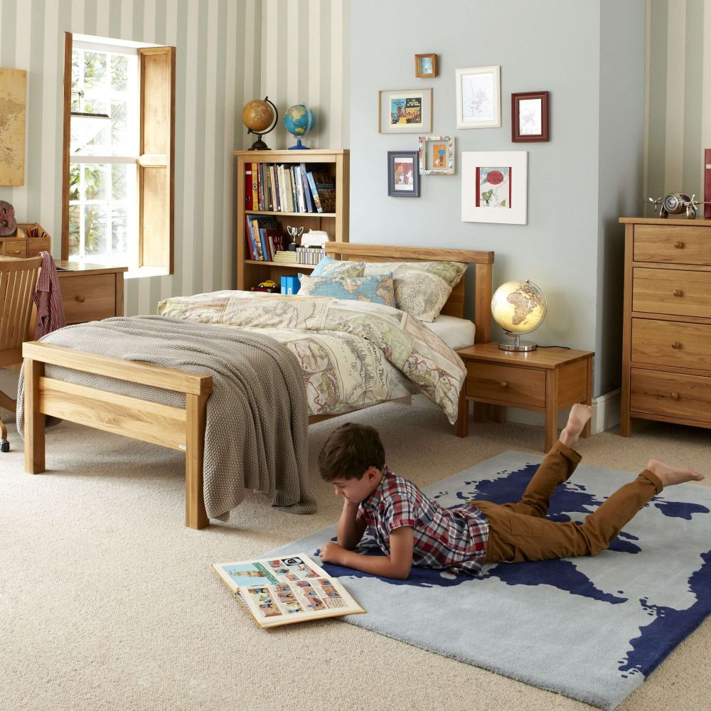 Porterhouse Children's Single Bed - Oak