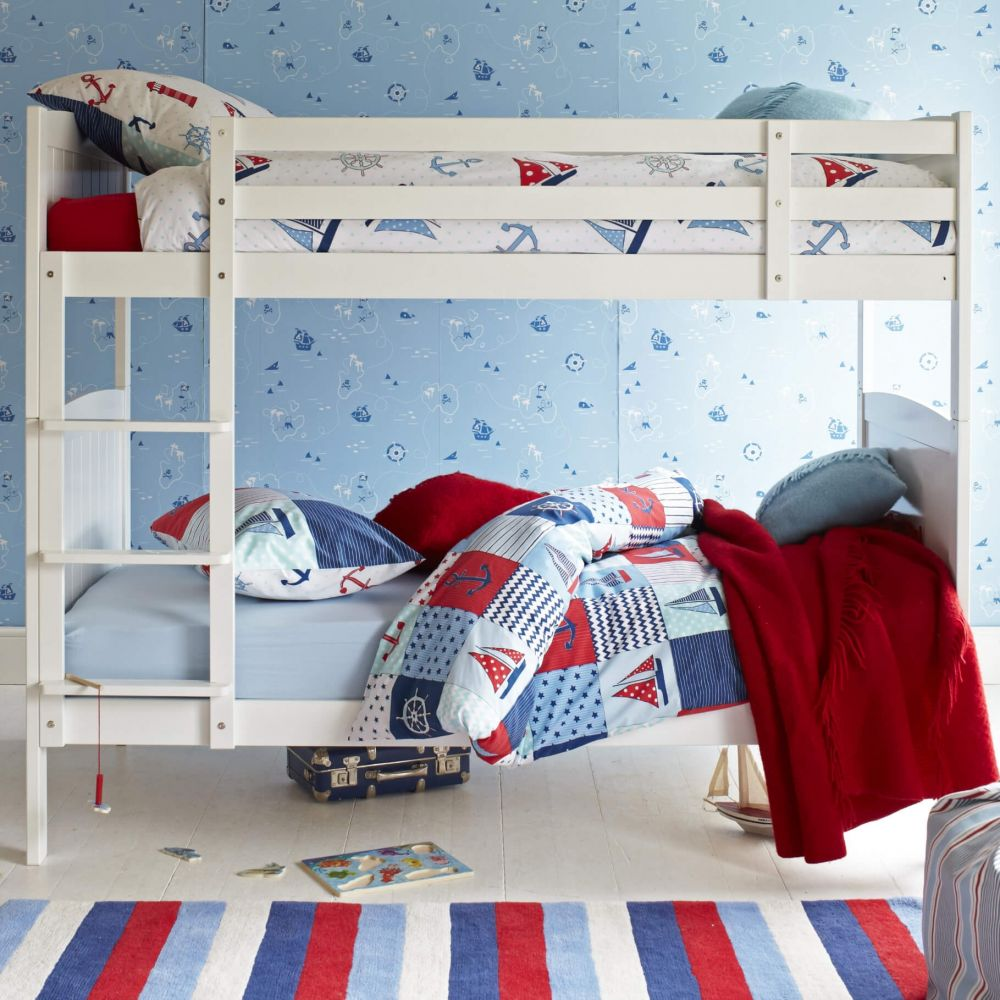 Milford Childs Wooden Bunk Bed, Childs Bunk Bed | Aspace