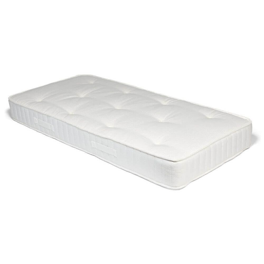 Children's Raised Bed Mattress Deluxe - White Waffle (single)