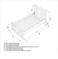 Charterhouse Single Bed Size Specifications