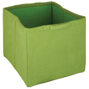 fabric storage tote - lime