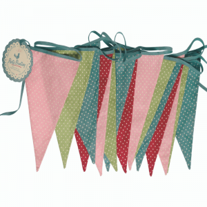 Children's Spotty Bunting