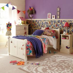 charterhouse childs single bed - antique white