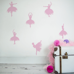 Ballerinas Children's Wall Stickers