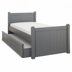 Charterhouse children's sleepover bed - dark grey