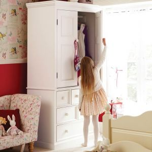 Belvoir Children's Wardrobe - Silk White