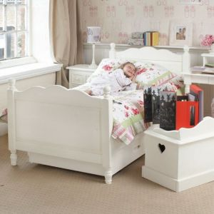 Belvoir Children's Single Bed - Silk White