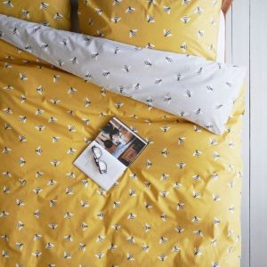 Buzzy Bee Organic Cotton Single Duvet Set