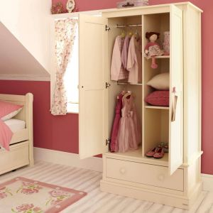 Charterhouse Childs Wooden Armoire, Childs White Armoire, Childrens Wooden Armoire, Childrens White Armoire, Kids Wooden Armoire, Kids White Armoire