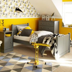 Charterhouse Childs Wooden Single Bed, Childs Grey Single Bed, Childrens Wooden Single Bed, Childrens Grey Single Bed, Kids Wooden Single Bed, Kids Grey Single Bed