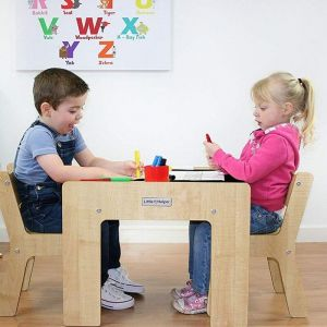 Chalkboard Children's Play Table and Chairs Funstation