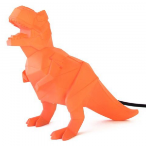Orange Dinosaur Lamp