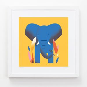 Elephant - Children's Framed Art Print
