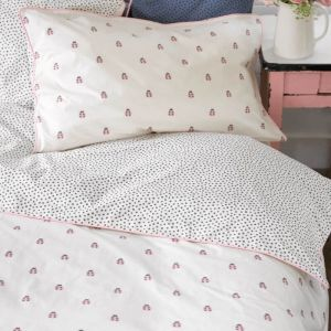 Ladybirds Reversible Cotton Single Duvet Set