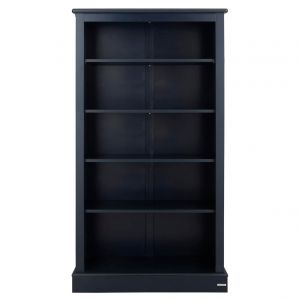 Milne Childs Wooden Bookcase, Childs Blue Bookcase, Childrens Wooden Bookcase, Childrens Blue Bookcase, Kids Wooden Bookcase, Kids Blue Bookcase
